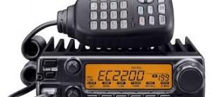 Radio Komunikasi Buat mobil Rig Lupax EC 2200 H Single Band VHF Power 65Watt Tahan Goncangan