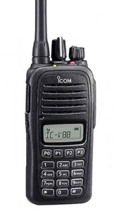 Handy Talky Buatan Jepang HT ICOM IC-V88 Single Band VHF Waterproof Body Kecil