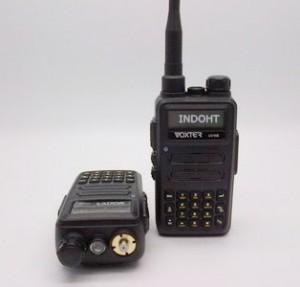 Radio Komunikasi Militer indonesia Handy Talky HT Voxter UV-W8 Dualband VHF/UHF Waterproof Berani Air