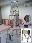 Tangga Lipat Aluminium Double Ladder 2.6m