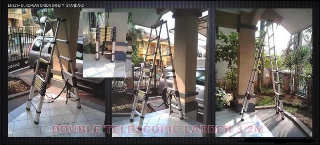 tangga telescopic murah